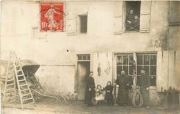 CARTE PHOTO ENVOYEE DE MEAUX EN 1913 SIGNEE FROY DE MONTGE - Autres Communes
