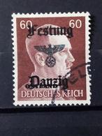 Deutsche Besetzung Festung Danzig Mi-Nr.797 Gestempelt - Occupation 1938-45