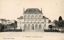 Vannes...palais De Justice  No.45 - Vannes