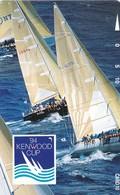 Hawaii, GTH-D70 , 1994 Kenwood Cup (Sailboats Racing), Mint, 2 Scans. - Hawaii