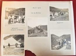 COL DE BALME DEPART DRAPIER G. RICHARD REFUGE ALPINISTE MONTAGE HAUTE-SAVOIE ALPINISME AOUT 1917 HAUTE-SAVOIE - Frankrijk