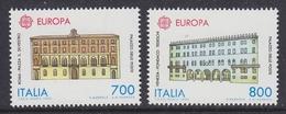 Europa Cept 1990 Italy 2v  ** Mnh (42632K) GALAXY PRICE - 1990