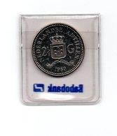 NEDERLANDSE ANTILLEN 2 1/2 GULDEN 1980 BEATRIX UNC. - Antilles Neérlandaises