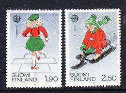 Europa Cept 1989  Finland 2v ** Mnh (42632M) - 1989