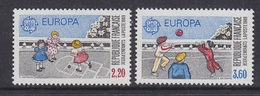 Europa Cept 1989 France  2v ** Mnh (42632N) ROCK BOTTOM PRICE - 1989