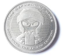 MU001 Token Warner Bros Studios 1996, The Republic Of Mars - Souvenir-Medaille (elongated Coins)