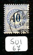 SUI SBK Taxe 5 Type II (K) En Obl - Postage Due
