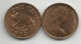 Bermuda 1 Cent 1970. - Bermuda