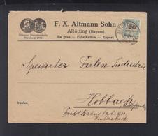 Dt. Reich Brief Altötting EF - Briefe U. Dokumente
