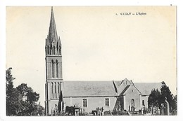 CULLY  (cpa 14)  L'église   -  L 1 - Other Municipalities