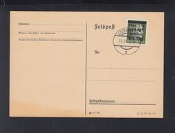 Österreich Afdruck 1945 Wieder Frei Auf Blanko-Karte - 1945-60 Briefe U. Dokumente