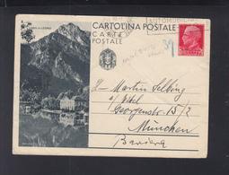 Cartolina Lago Di Ledro1936 - Postwaardestukken