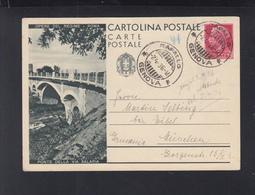 Cartolina Ponte Della Via Salaria 1936 - Stamped Stationery