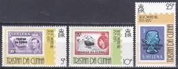 Tristan Da Cunha 1979 Geschichte History Postgeschichte Philatelie Philately Persönlichkeiten Rowland Hill, Mi. 262-4 ** - Tristan Da Cunha