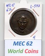 MEC 62 - REPUBLICA PORTUGUESA MEDALHA ALVARO CUNHAL - L-577 - Entriegelungschips Und Medaillen