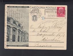 Cartolina Dopolavoro Ferroviario 1936 - Interi Postali