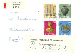 R Brief  Zürich Wipkingen - Zürich Unterstrass  (Zur Abholung Gemeldet)          1972 - Switzerland