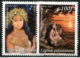 Polynésie, N°1017 à N° 1018** Y Et T - Polynésie Française