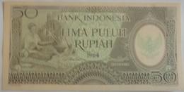 Billet D'Indonésie 50 Roupies 1964 Pick 96 Neuf/UNC - Indonesia