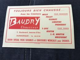 BUVARD ANCIEN BAUDRY CHAUSSEUR DUNKERQUE - Shoes