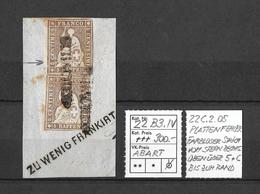 """1854-1862 Helvetia (Ungezähnt) Strubel → Undef.BST Mit Vermerk """"zu Wenig Frankiert""""  ►SBK-22B3.IV PLATTENFEHLER !!!◄ - Lettres & Documents"""