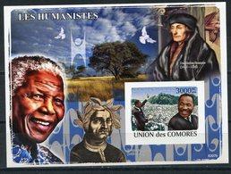 Comoros 2008 KU001 Martin Luther King. Nobel Laureate - Martin Luther King