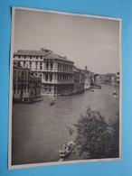 Venise VENETIË Canale Grande / Italy ( Format Photo 23,5 X 17,5 Cm. ) Anno 1952 ( Zie/Voir/See Photo ) ! - Lieux