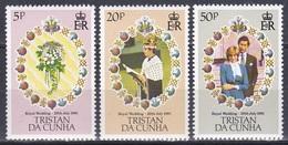 Tristan Da Cunha 1981 Geschichte History Königshäuser Royals Hochzeit Prinz Charles Lady Diana Spencer, Mi. 304-6 ** - Tristan Da Cunha