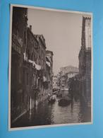 Venise VENETIË Canale / Italy ( Format Photo 23,5 X 17,5 Cm. ) Anno 1952 ( Zie/Voir/See Photo ) ! - Lugares