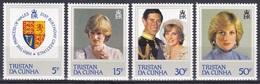Tristan Da Cunha 1982 Geschichte History Königshäuser Royals Prinzessin Diana Geburtstag Birthday Wappen, Mi. 323-6 ** - Tristan Da Cunha