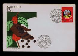 ANGOLA Campagne De Café Coffee Campaign 1976 Portugal Maps Geography Gc3915 - Other
