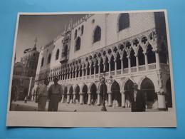 Venise VENETIË Palais Des Doges / Italy ( Format Photo 23,5 X 17,5 Cm. ) Anno 1952 ( Zie/Voir/See Photo ) ! - Lieux
