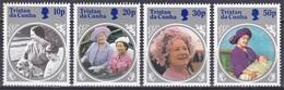 Tristan Da Cunha 1985 Geschichte History Königshäuser Royals Königinmutter Elisabeth Geburtstag Birthday, Mi. 385-8 ** - Tristan Da Cunha