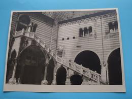 Verone VERONA Intérieur Du Palais De La Comm / Italy ( Format Photo 23,5 X 17,5 Cm. ) Anno 1952 ( Zie/Voir/See Photo ) ! - Lieux