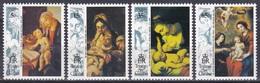 Tristan Da Cunha 1993 Religion Christentum Weihnachten Christmas Kunst Arts Gemälde Paintings Rubens Gran, Mi. 544-7 ** - Tristan Da Cunha