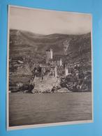 LAGO Di GARDA Malcesine / Italy ( Format Photo 23,5 X 17,5 Cm. ) Anno 1952 ( Zie/Voir/See Photo ) ! - Plaatsen