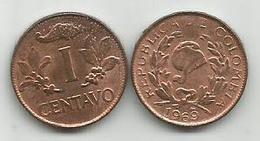 Colombia 1 Centavo 1969. Vf - Colombia