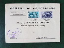 (36689) STORIA POSTALE ITALIA 1952 - 6. 1946-.. Repubblica