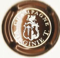 Virginie T. (Taittinger) N°2, Marron Métallisé & Crème - Champagne