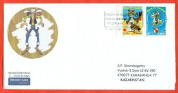 France 2003.Red Cross. The Envelope Is Really Past Mail.Airmail. - France