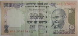 Billet D'Inde 100 Roupies 2009 Ayant Circulé - India