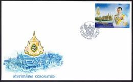 Thailand 2019, Coronation Of King Maha Vajiralongkorn, FDC - Thailand