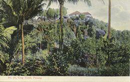 Straits Settlements, Malay Malaysia, PENANG, Craig Hotel (1910s) Postcard - Malaysia