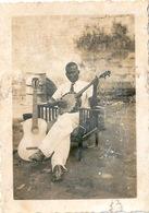Photo Originale N'Daw Doudou Musicien Guinéen Commis Expéditionnaire Au Secrétariat Général - Africa
