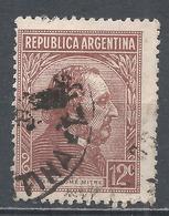 Argentina 1935. Scott #432 (U) President, Bartolomé Mitre * - Argentina