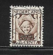 PAYS BAS ( EUPB - 6 )   1924  N° YVERT ET TELLIER  N°  160 - 1891-1948 (Wilhelmine)