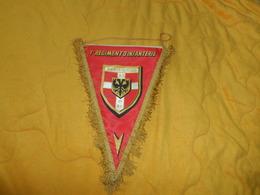 FANION 1er REGIMENT D'INFANTERIE ...ON NE RELEVE PAS PICARDIE 1479...1ER R.I... - Flags