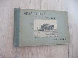 Album Ancien 24 Photos 20 X 13.6 Athènes Athen Grèce - Places