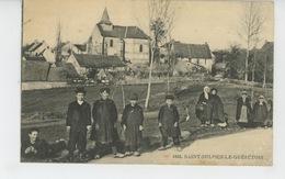 SAINT SULPICE LE GUERETOIS (petits écoliers ) - Francia