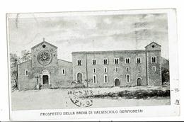 CPA- Carte Postale - Italie - Sermoneta - Prospetto Della Badia Di Valvisciolo -VM2863 - Latina